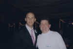Todd Foster and Lance Hines (sorry it's blurry)